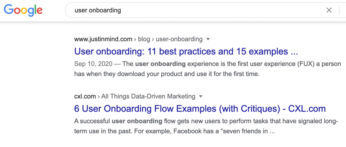user onboarding product review