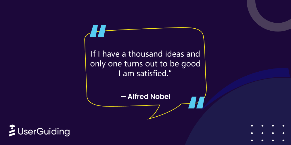 ux design quotes alfred nobel
