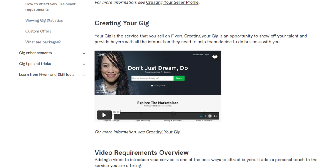 video onboarding example 1