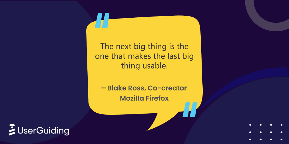 ux quotes blake ross