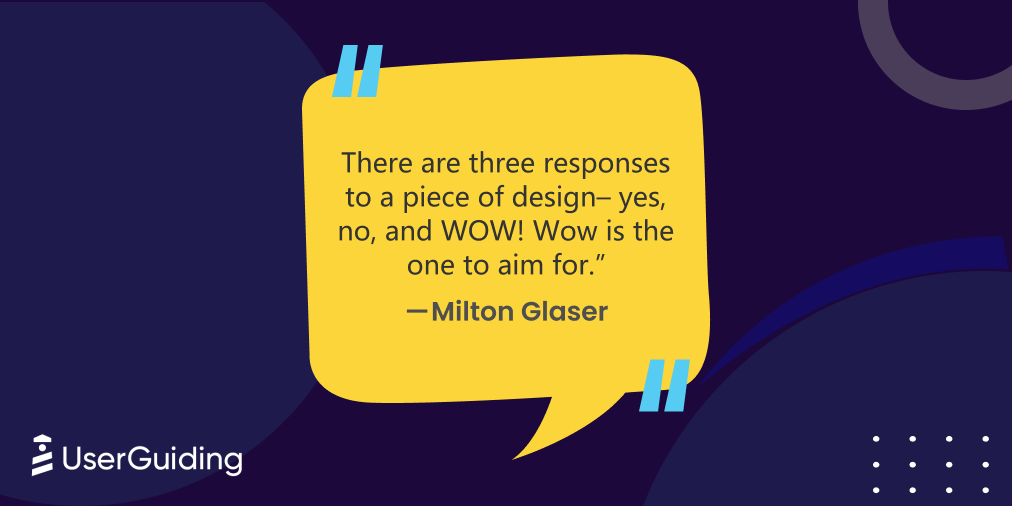 ux quotes milton glaser wow