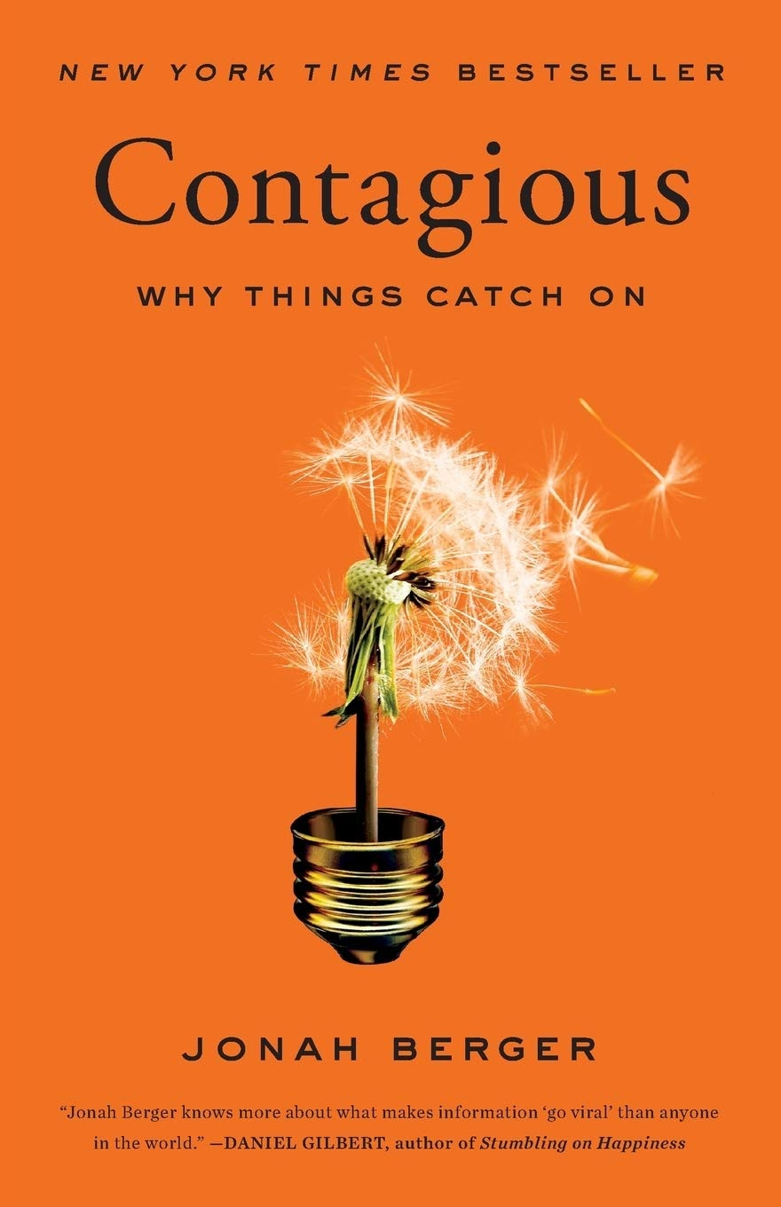 growth and growth hacking books contagious