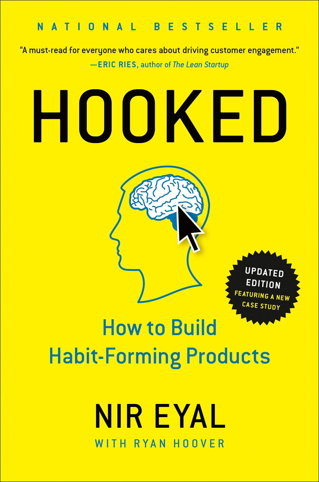 growth and growth hacking books hooked