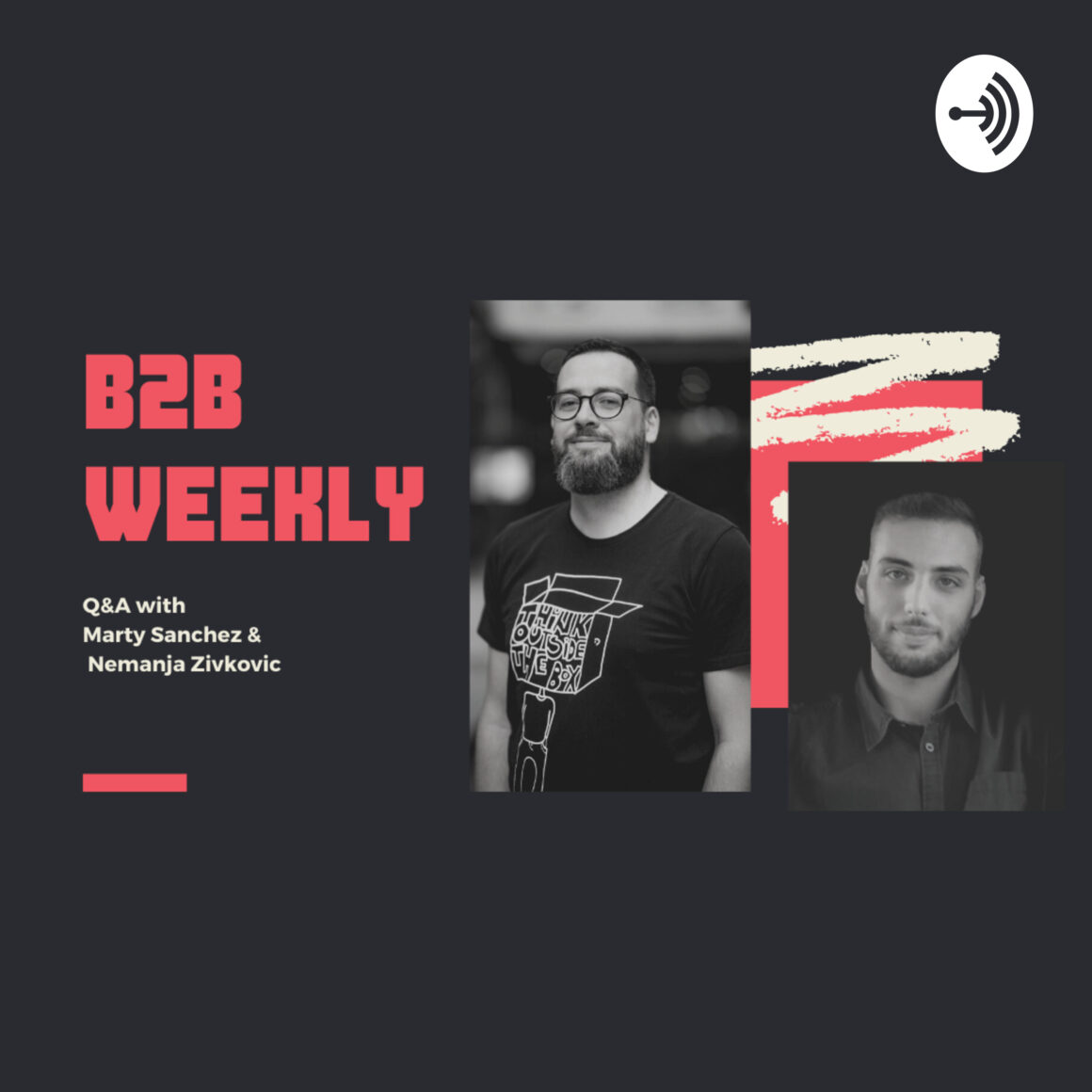 best marketing podcasts b2b weekly
