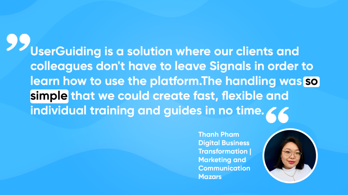 mazars userguiding customer success
