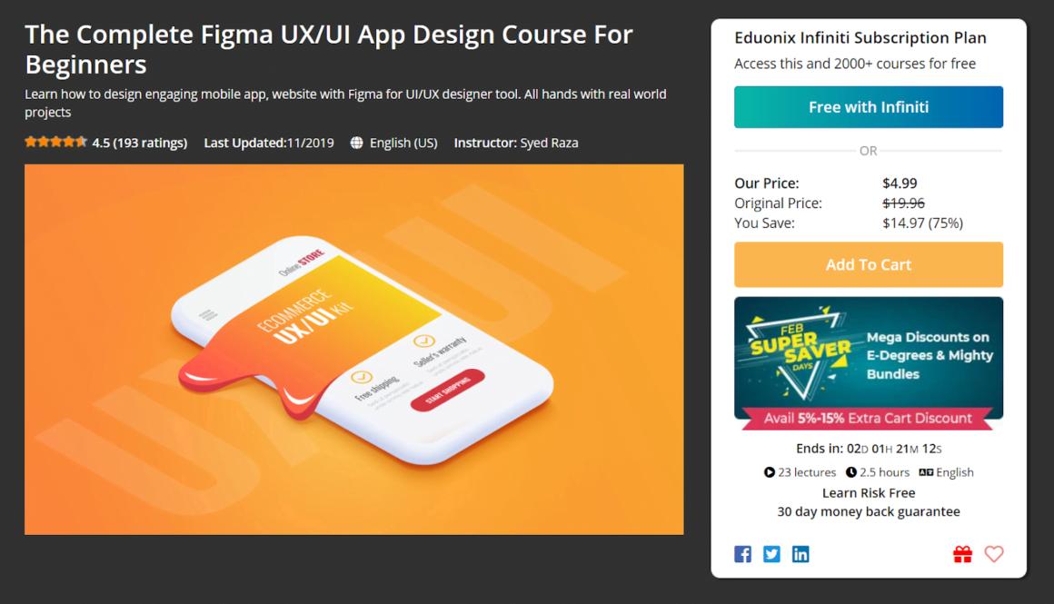 figma tutorials courses ux ui beginner design