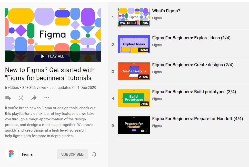 figma tutorials courses official figma youtube