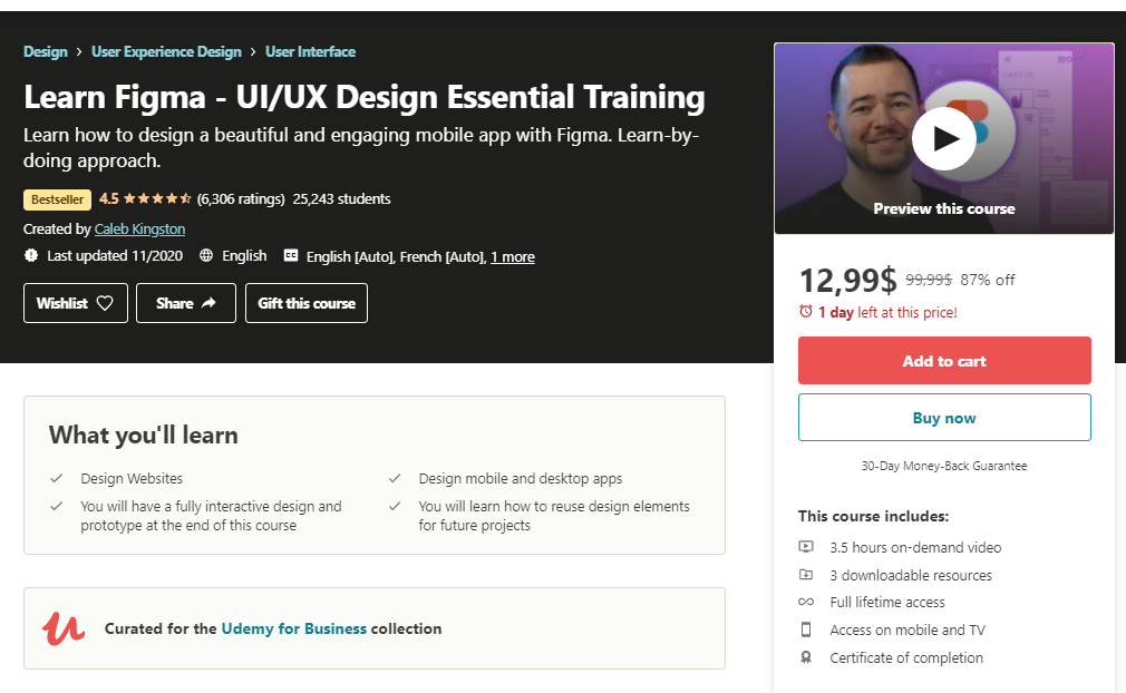 figma tutorials courses ui ux essential