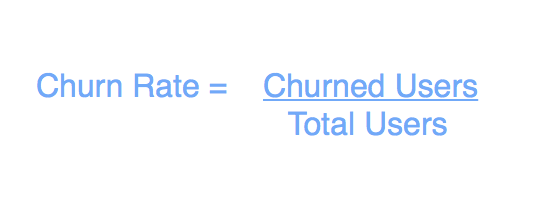 how to calculate product success  - Churn Rate