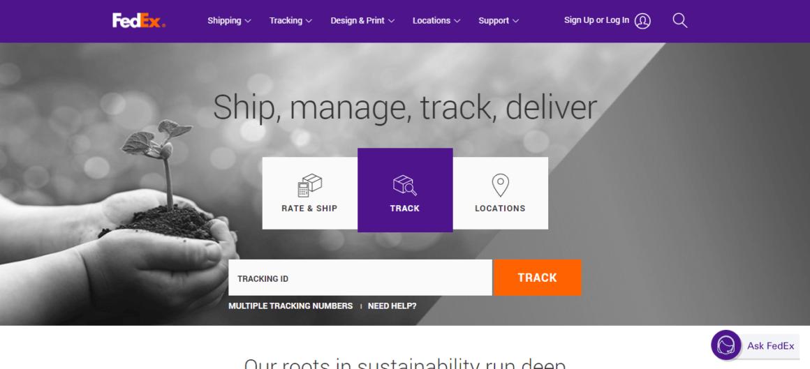 customer support standards FedEx