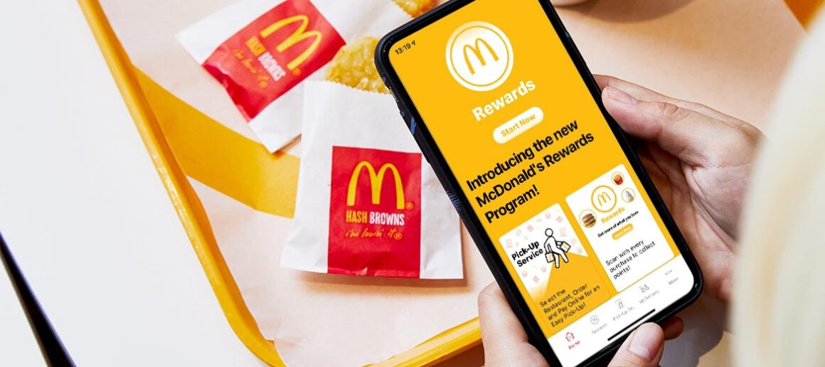 Mcdonald's mobile application discount promotion