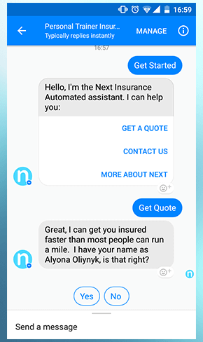 Customer retention best practices personal trainer insurance chatbox
