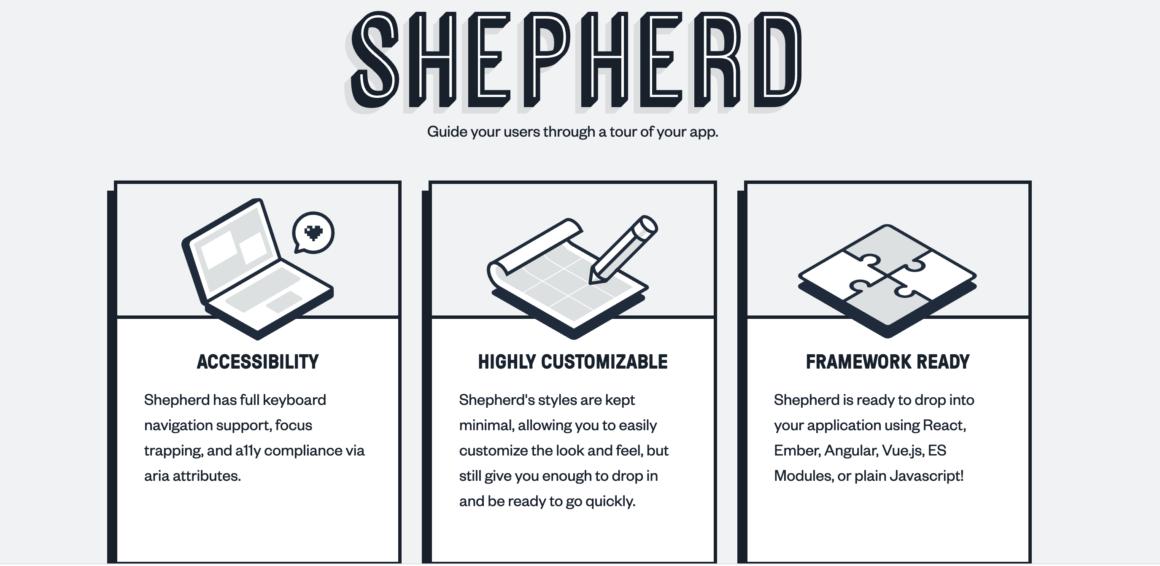 Shepherd feature adoption tool