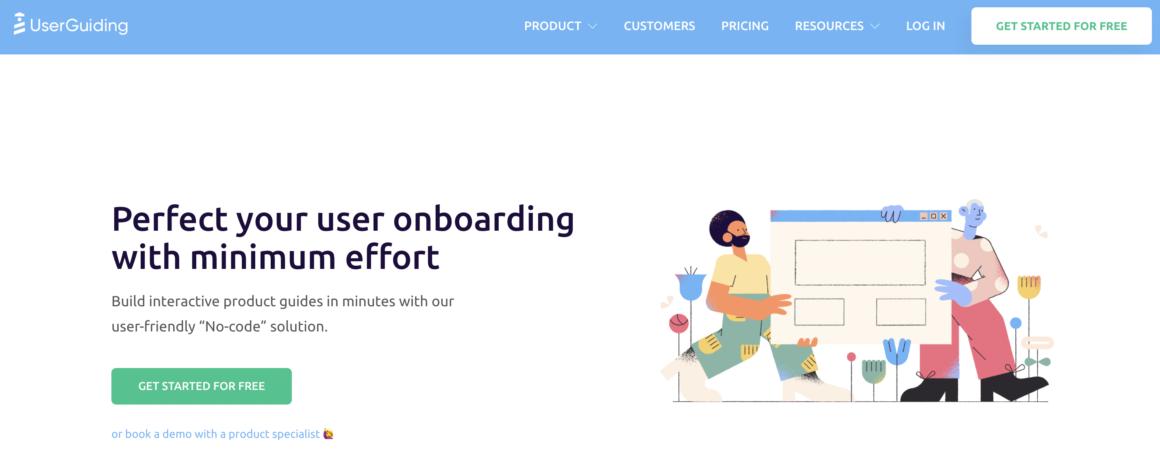UserGuiding feature adoption tool