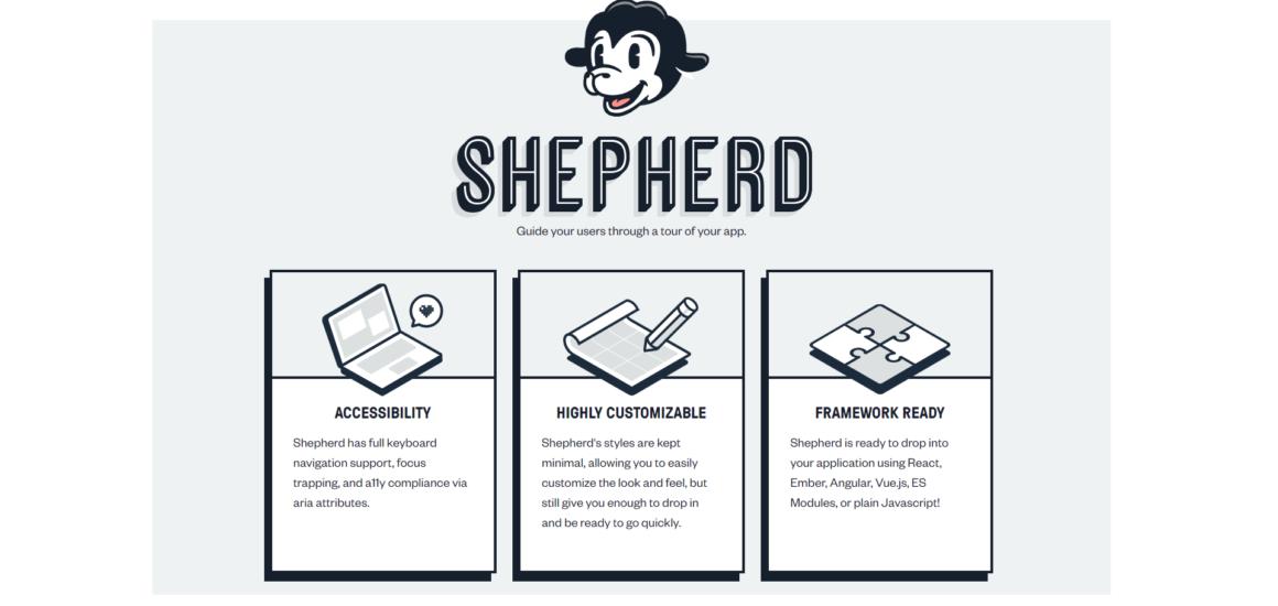 appcues free alternative shepherd