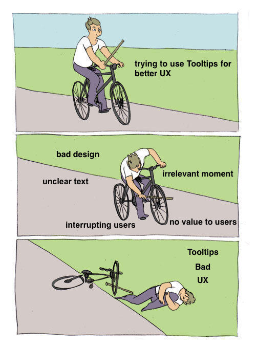 why tooltips are bad UX