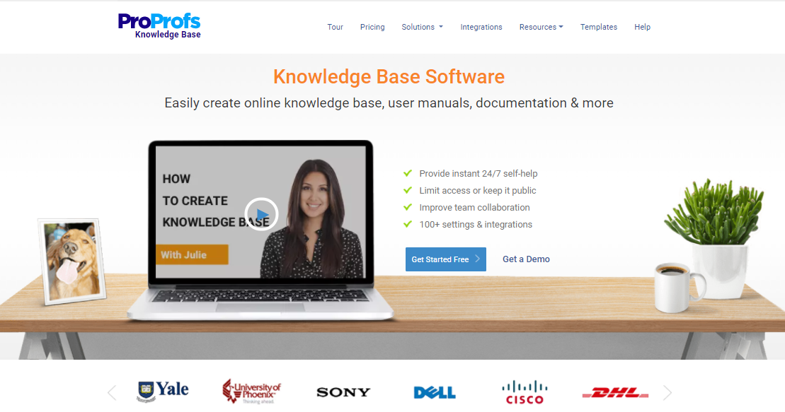 knowledge base software proprofs