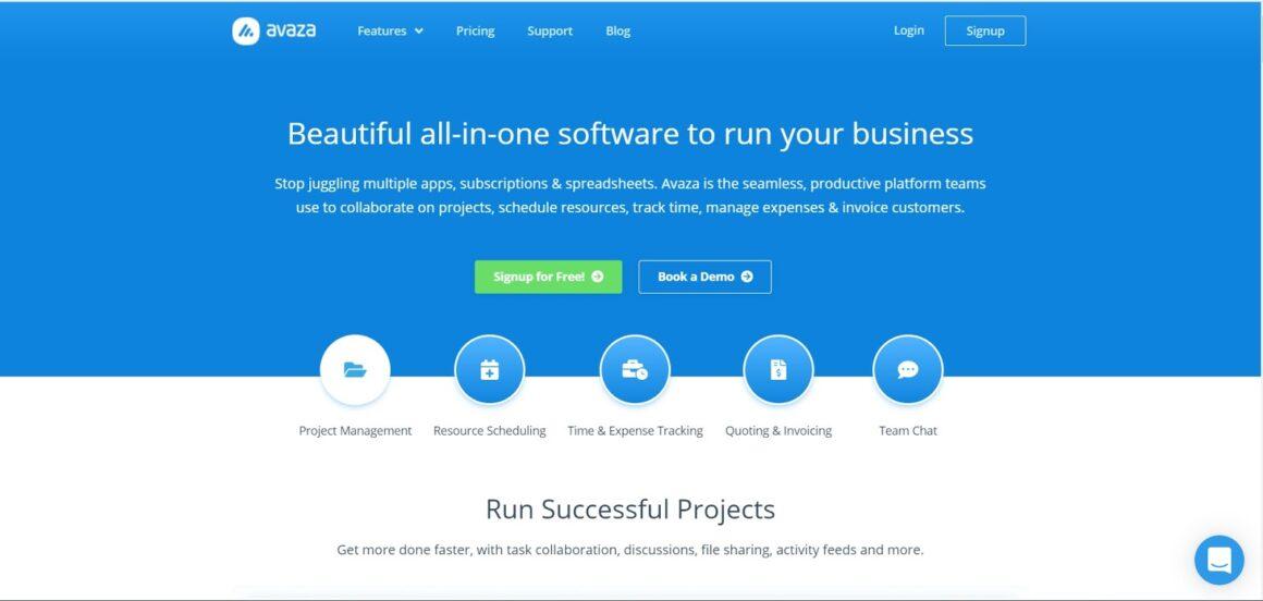 project management tools avaza