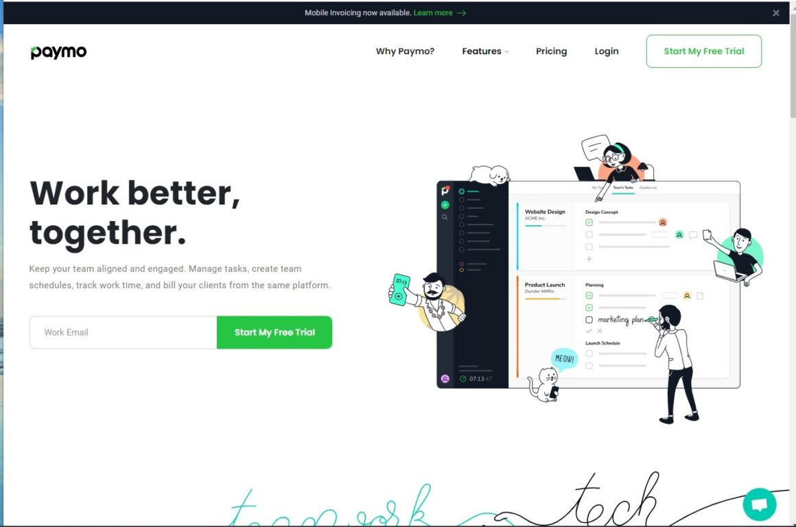 project management tools paymo