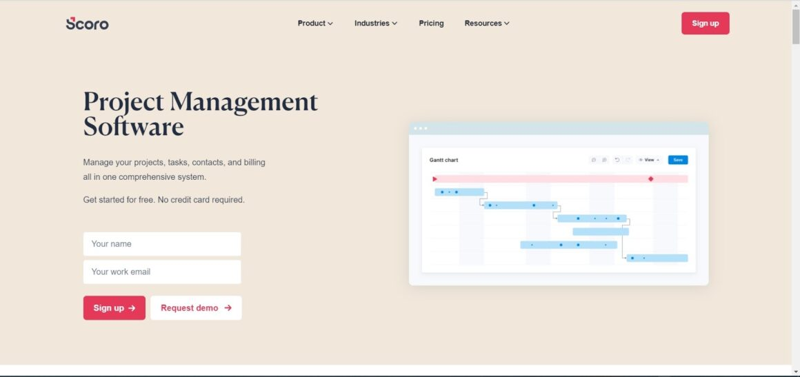 project management tools scoro