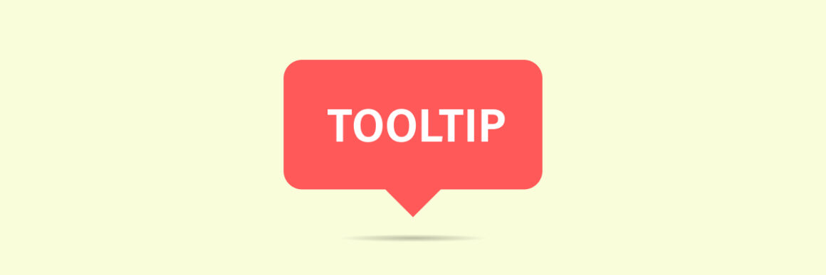 what is a tooltip used for