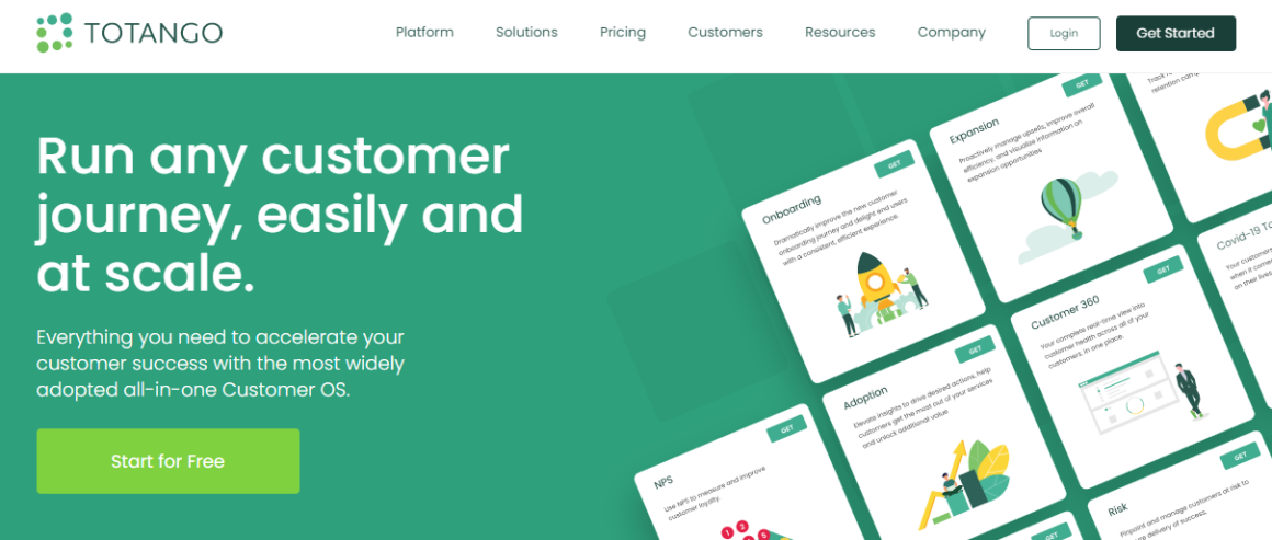 customer success tools totango