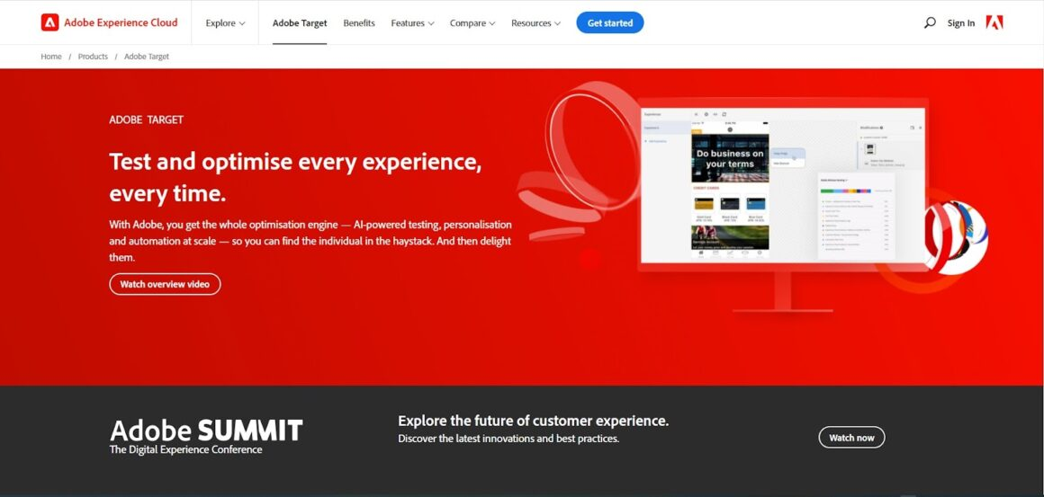 A/B Testing Tools Adobe Target