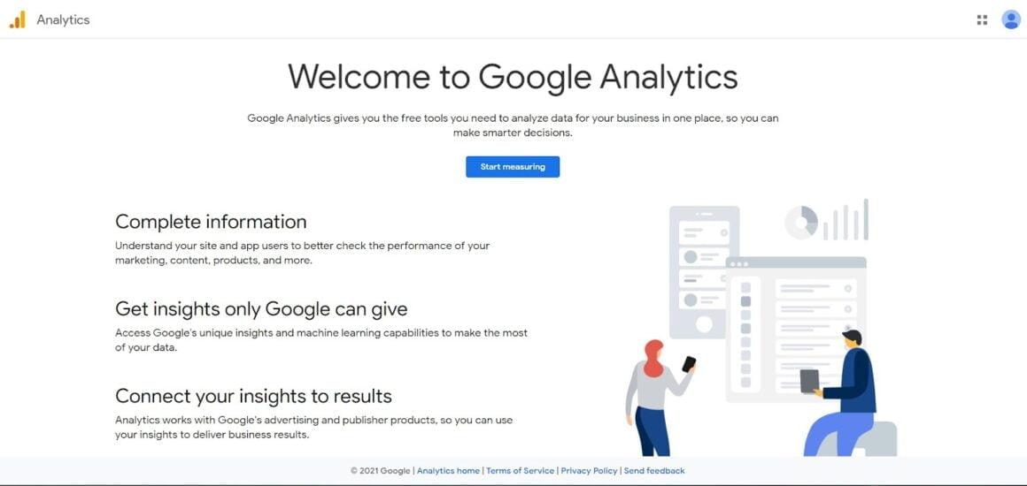 marketing analytics tools google analytics