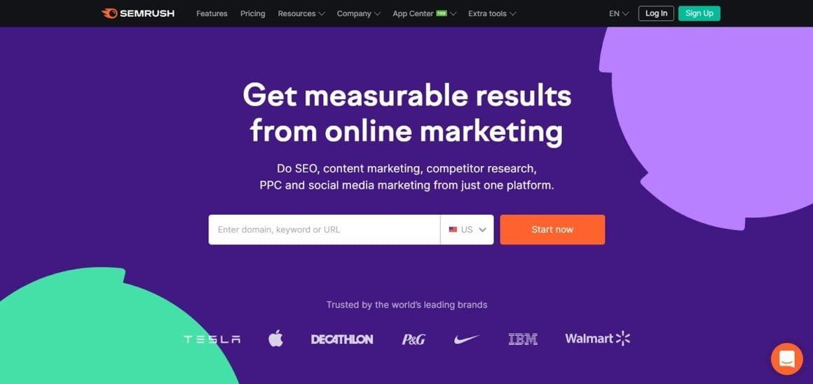 marketing analytics tools semrush