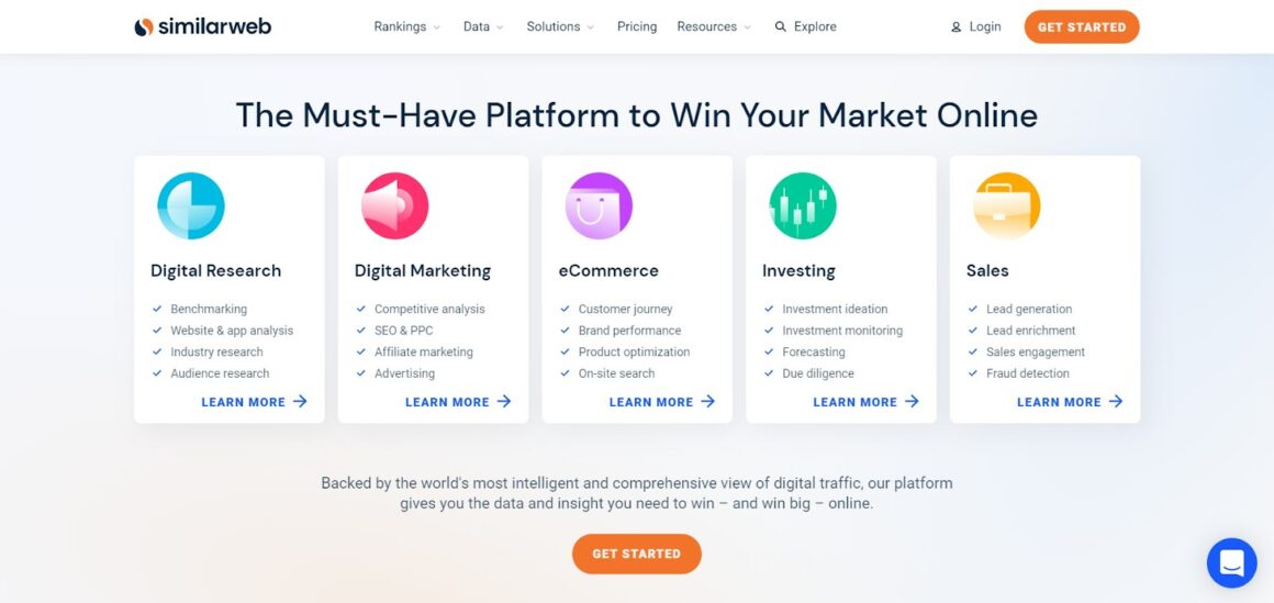 marketing analytics tools similarweb