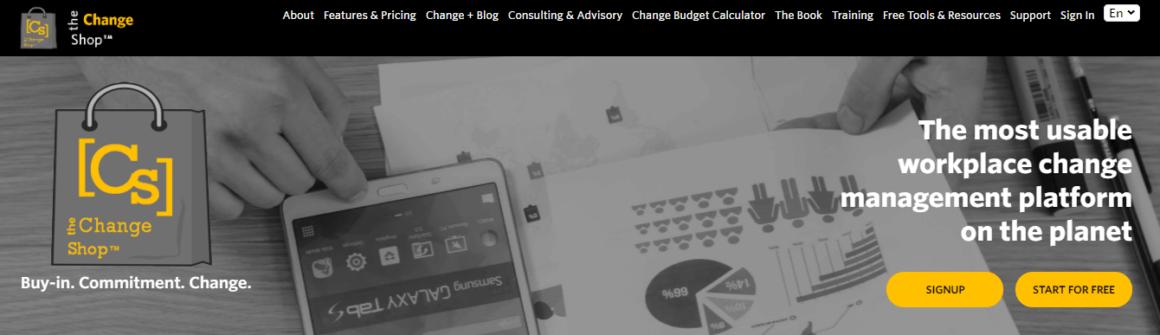 best change management tools the change shop