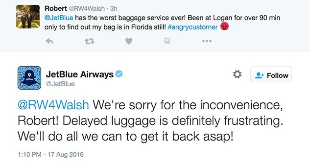 customer service mistakes jetblue