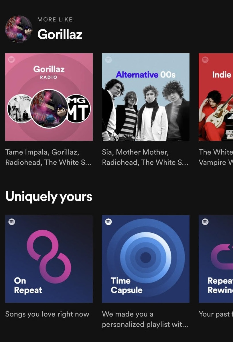 good ux examples spotify