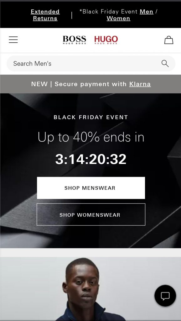 black friday campaign example
