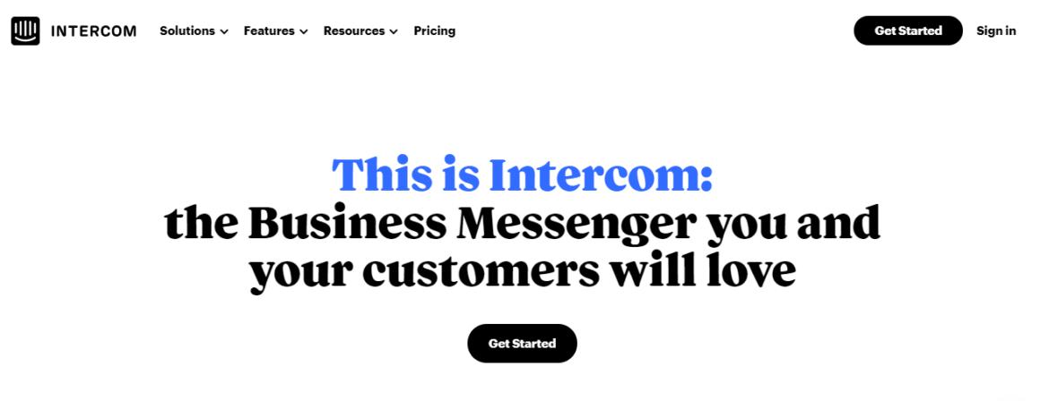 no code tools intercom
