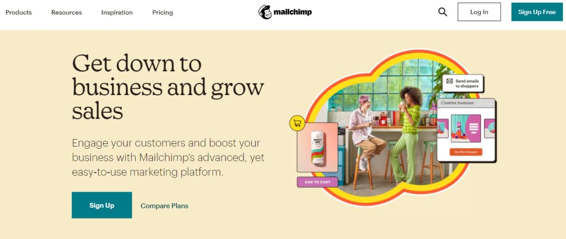 no code tools mailchimp