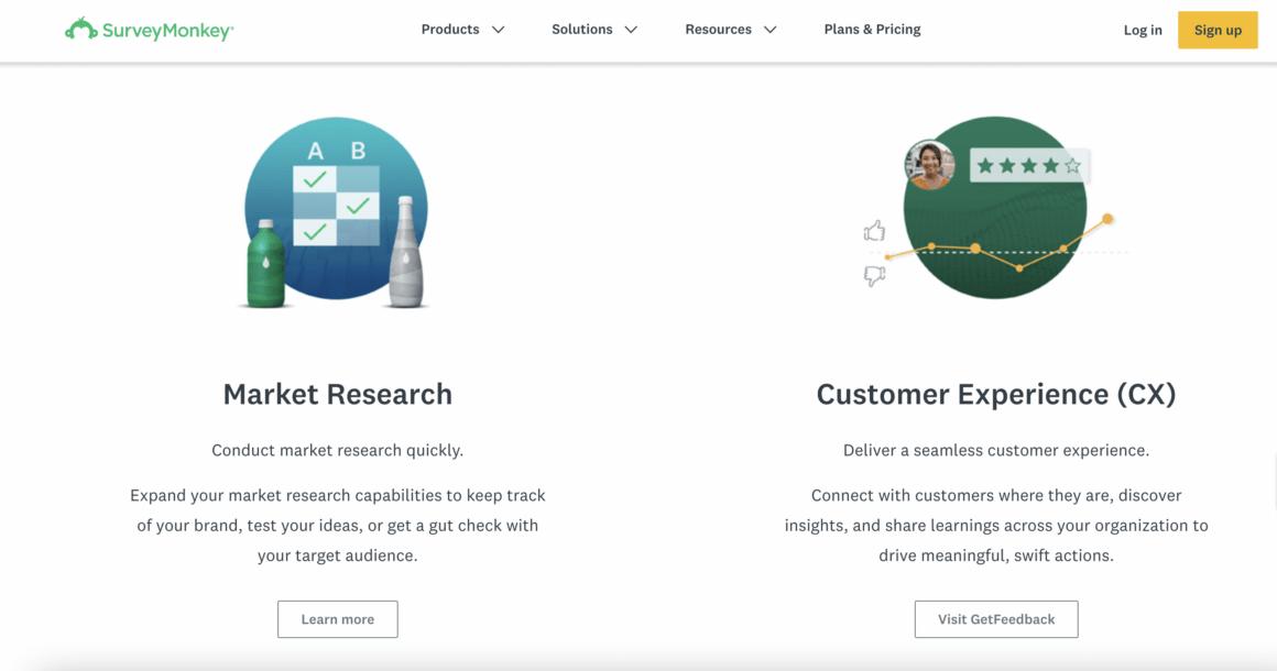 SurveyMonkey product-led company